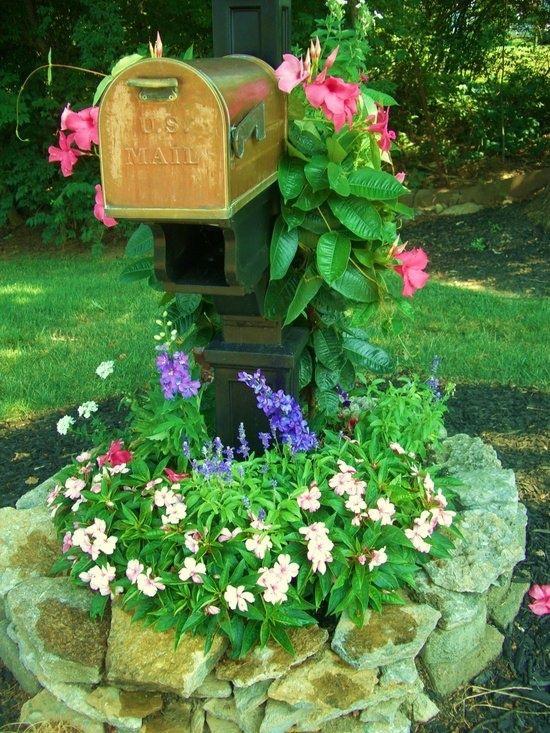 Garden Ideas Around Mailbox 100 best mailbox landscaping images on pinterest | mailbox ideas