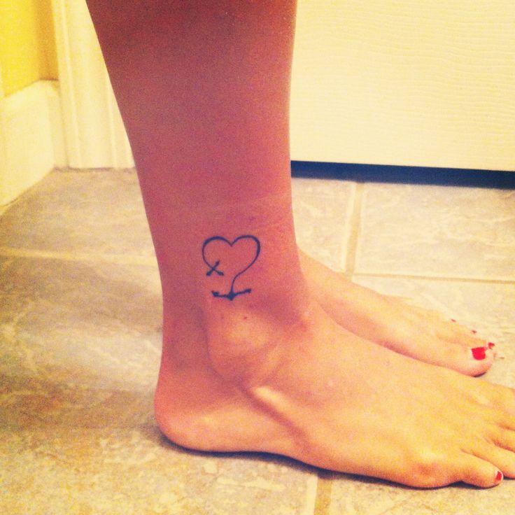 My faith, hope, and love tattoo ❤