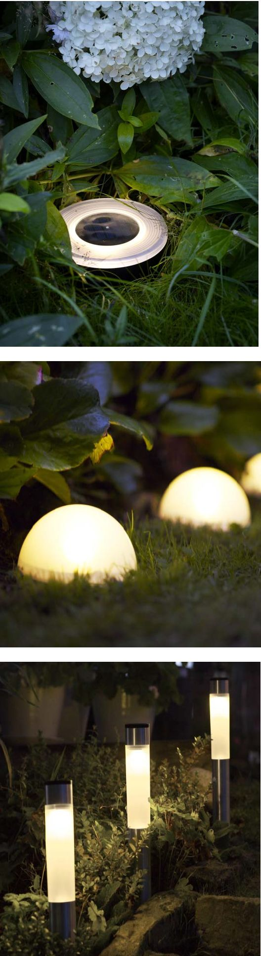 Light the way with SOLVINDEN solar-powered lights. Perfect for your yard and pathways.