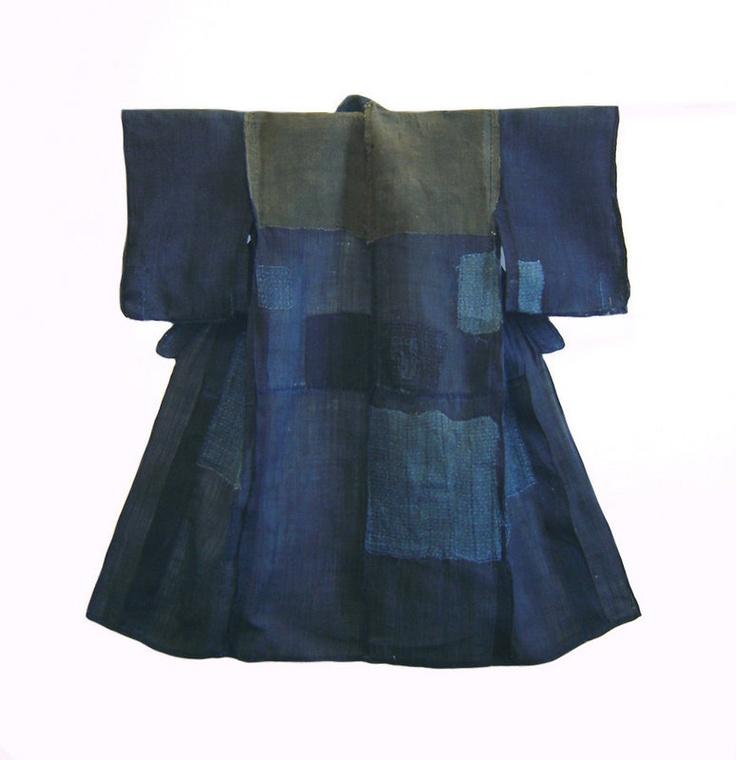 Boro kimono #Japanese #clothing #textiles