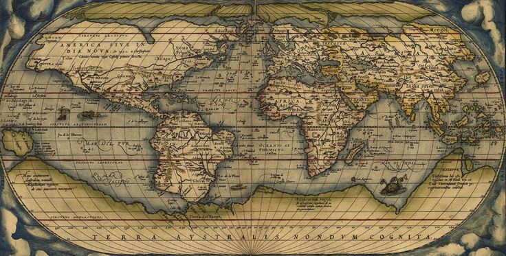 Liven up your wall with this 'Vintage Map' feature wallpaper