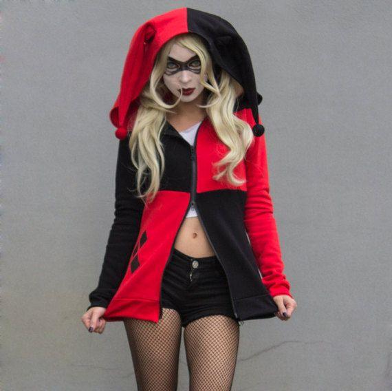 Harley Quinn inspiriert hoodie von GeekxGoth auf Etsy >>> i want it. I need it. I will get it.