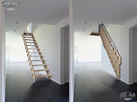 Best Bcompact Hybrid Stairs Лестничные Конструкции Дом Интерьер 400 x 300