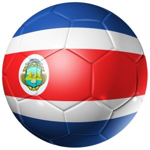 Costa Rica Football Flag♦️More Pins Like This At FOSTERGINGER @ Pinterest ♦️