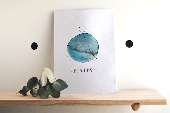 P I S C E S by FeidDesigns on Etsy
