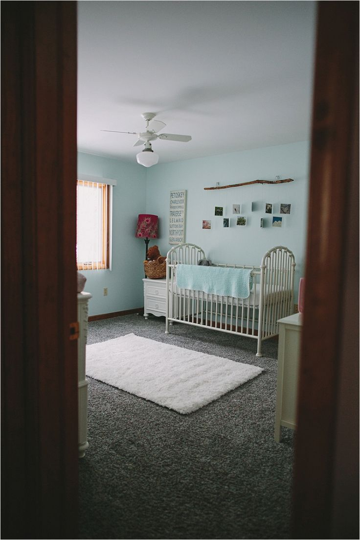 Pure Michigan inspired nursery #babygirl #puremichigan