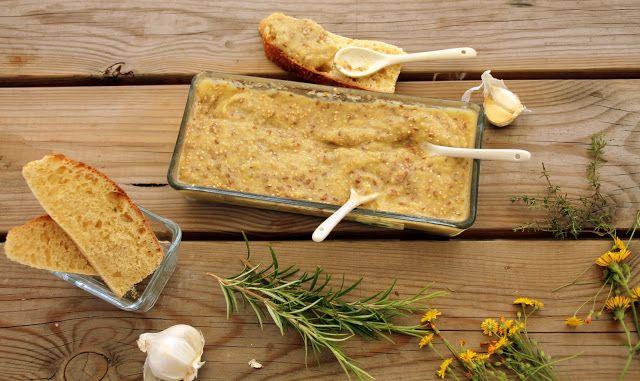 Flo bidouille en cuisine: Tartinade de courgette, sésame et graines de lin