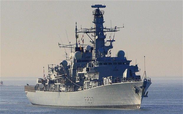 Royal Navy Type 23 Frigate HMS Westminster.