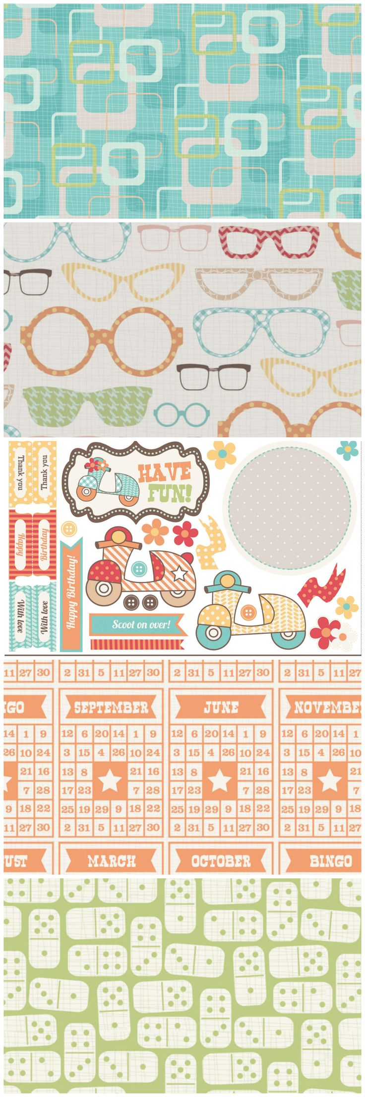 Scrapbook paper designs download - Go Vintage With These Retro Free Digital Paper Designs From Papercraft Inspirations 121 Download Them