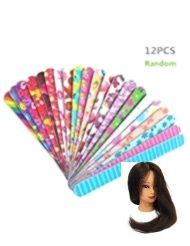 Female nail files 12 PACK Double-sided nail paw files for the home and S  -  Hautpflege-Rezepte