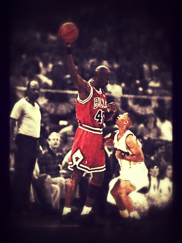 17 best nba greatest images on pinterest basketball goat and goats jordan vs muggsy sciox Image collections