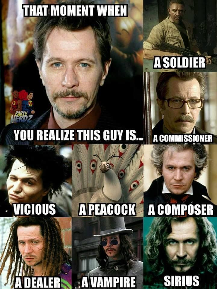 Which Gary Oldman role is YOUR favorite?