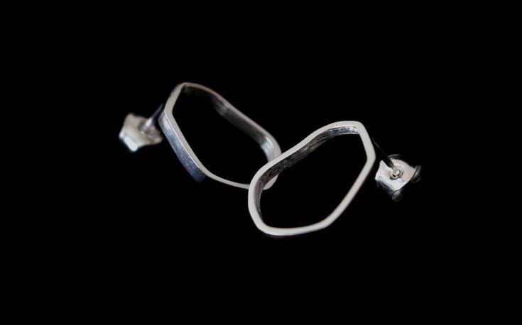 Kenno Frame- Mirka Laine Design #jewellery #design #silver #scandinaviandesign