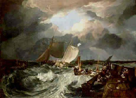 """Joseph Mallord William Turner: """"El muelle de Calais"""""""