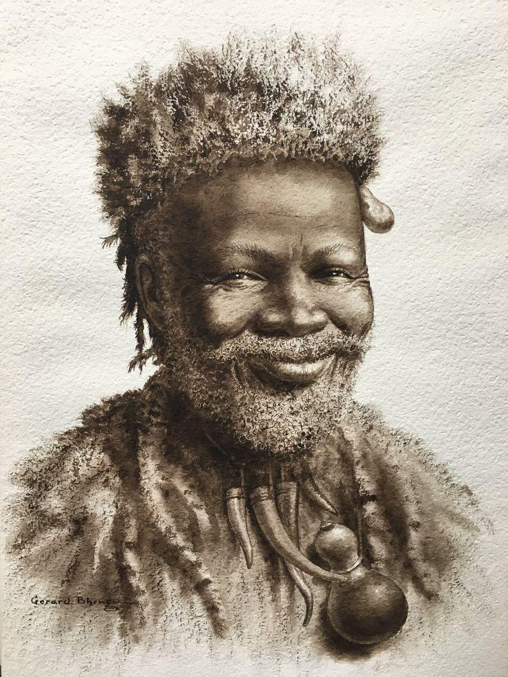 Gerard Bhengu  www.absolutart.co.za