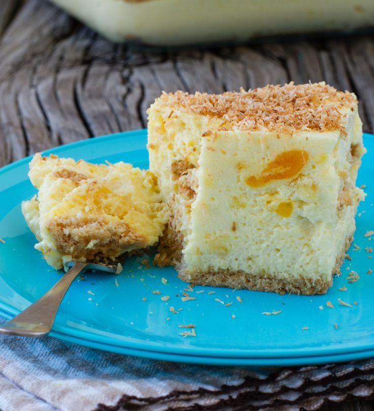 Pineapple Fridge Cake