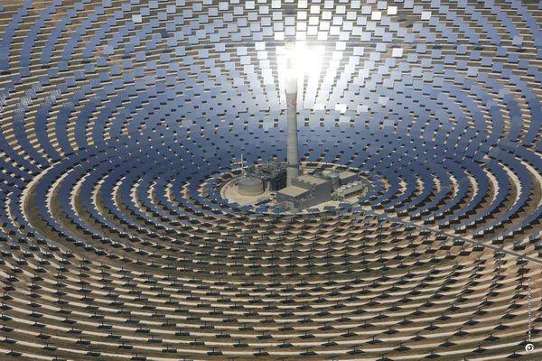 Centrale-solaire-photovoltaique Espagne