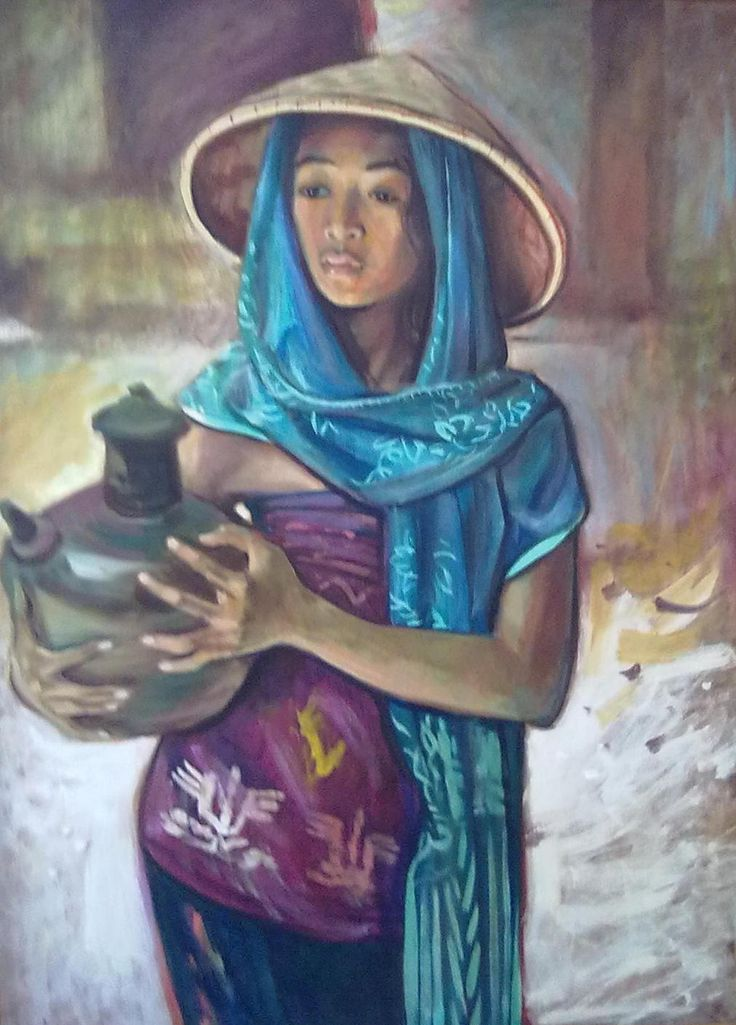 Barli Sasmitawinata - Gadis dan Kendi