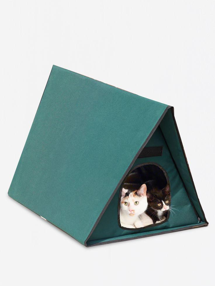 HAMMACHER , The Only Multiple-Cat Outdoor Heated Shelter #shopigo#shopigono17#pet#petaccessories#cat#cataccessories#home#kitten