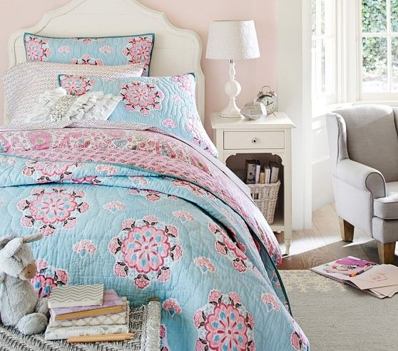 Brooklyn Quilted Bedding | Pottery Barn Kids