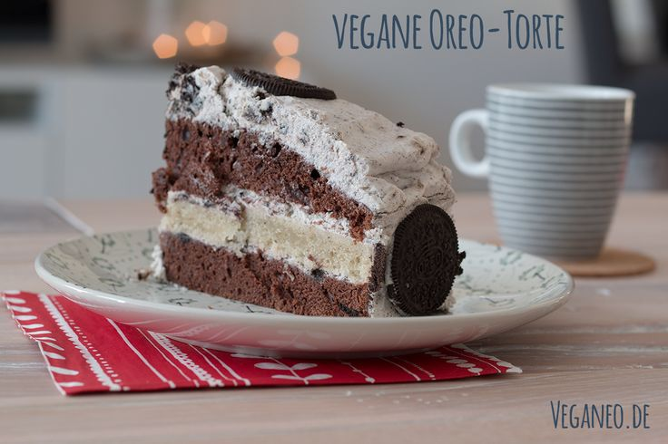 Vegane Oreo-Torte / Oreo-Kuchen