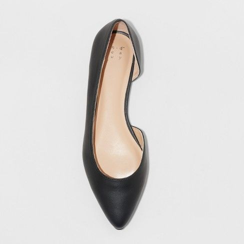 A New Day Women's Mohana D'orsay Pointed Toe Ballet Flats