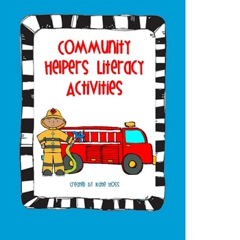 Cute Community Helpers unit!  Includes an emergent reader, centers, vocab cards, matching game, and lots of activities!Helpers Minis United, Emergency Reader, Community United, Helpers United, Complete Community, Helpers Literacy, Literacy Activities, Community Helpers, Social Study