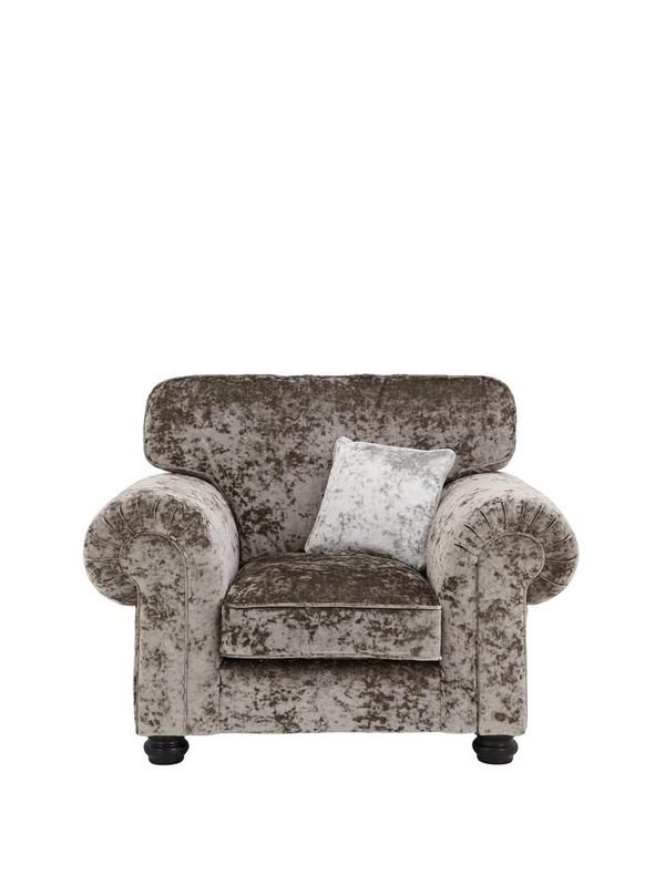 Laurence Llewelyn-Bowen Scarpa Fabric Armchair | very.co.uk