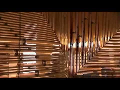 ▶ Frank Lloyd Wright - Johnson Wax Administrative Building - YouTube