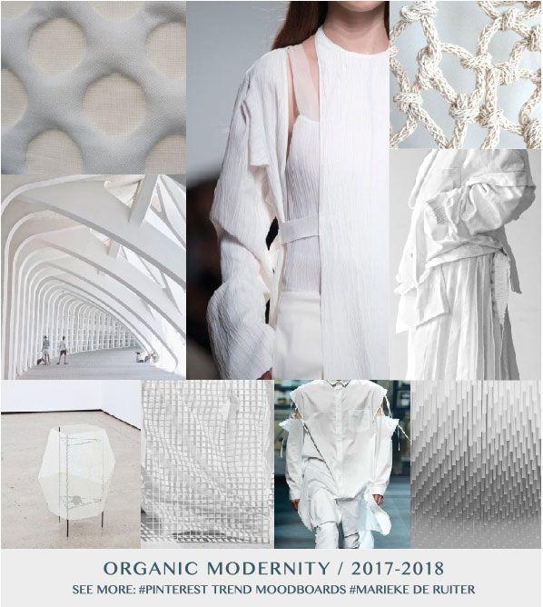 ORGANIC MODERNITY - TREND 2017/2018 - Marieke de Ruiter