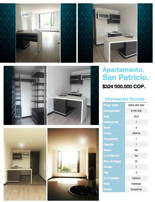 Apartamentos en venta San Patricio, Usaquen, Bogotá, Colombia. Informes Marco Quijano 320 325 5311 maquijano@grupoazai.com