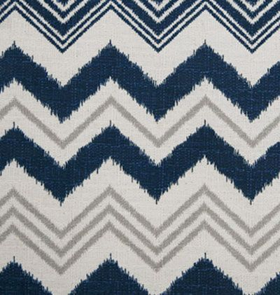Tonic Living,Zia Chevron, Navy,100% Cotton,Retro futon covers, retro fabric and pillows