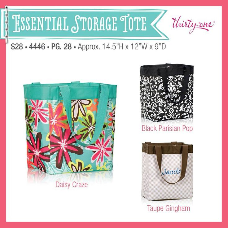 another great new product from the thirty one 2014 summer catalog the essential storage - New Product 2014