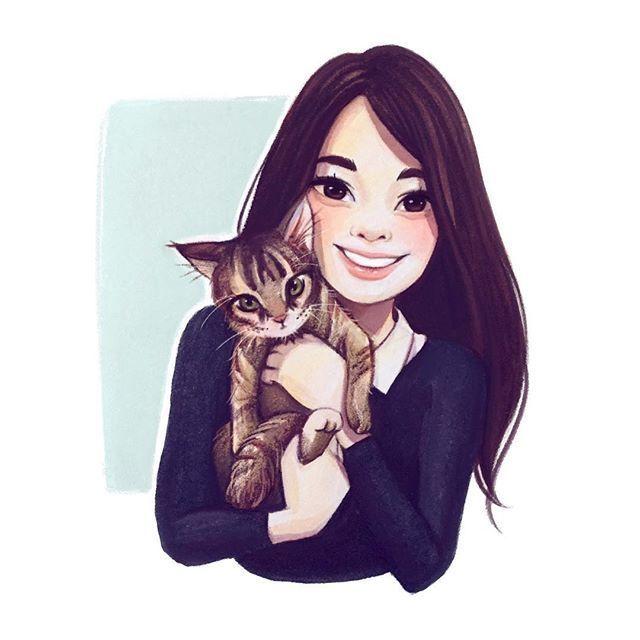Милые иллюстрации | ВКонтакте