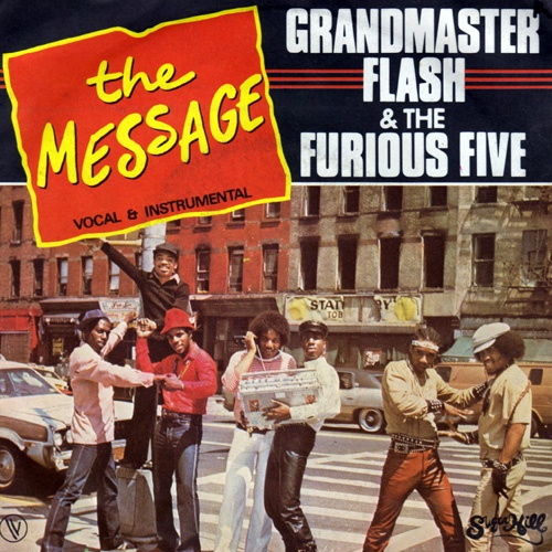 Grandmaster Flash & The Furious Five - The Message. A lot of so-called scholars/pundits associate the origins of hip hop with promoting materialism, violence, etc. Creators know that hip hop is a movement created to transform material conditions while developing new forms of effective conflict resolution. Only when corporate pirates came to town did the *message of hiphop change. The element of rap may be exploited-dead but hip hop (like jazz) will never end~~it evolves and it goes…
