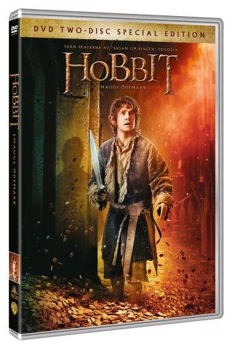 Hobbit: Smaugs ödemark (2 disc) (DVD)