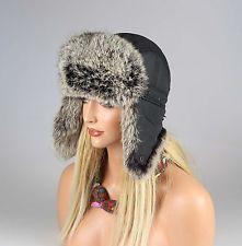 Conejo de las mujeres sombrero piel verdadera sombrero de piel sombrero gorro aviador, aviador invierno sombrero: 75,95 EUREnd Date: 27-sep…