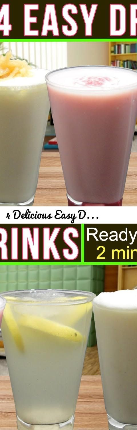 4 Delicious Easy Drinks Recipe (Ready in 2 mins!) | Summer/Ramadan Special... Tags: healthy shake recipes, Easy Drinks Recipe, ramadan special recipes, easy iftar recipes, pakistani iftar recipes, ramadan recipes indian, ramadan recipes for iftar, vegetarian iftar recipes, homemade summer drinks, summer drinks non alcoholic, summer drinks by sanjeev kapoor, cool drinks to make at home, fruit drinks recipes, homemade drinks for summer, cold drink recipes in hindi, cold drink recipes in hindi