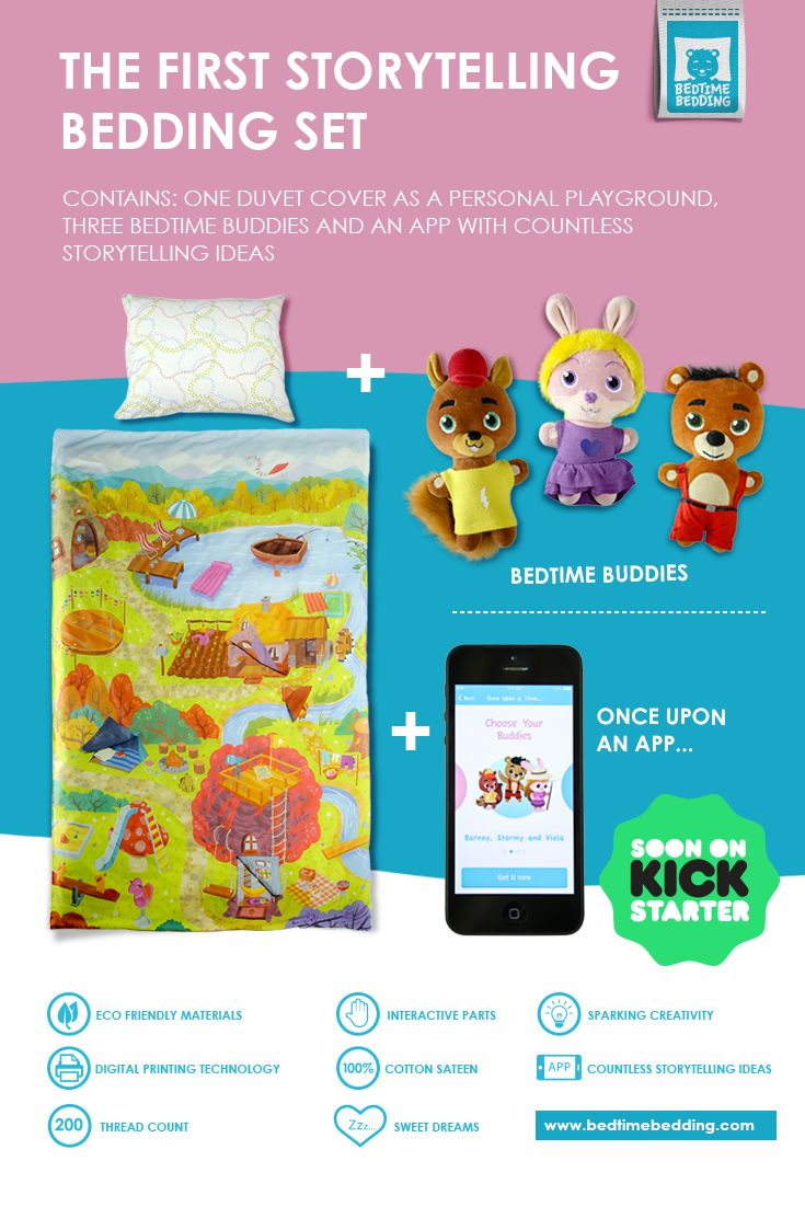 The Bedtime Bedding set