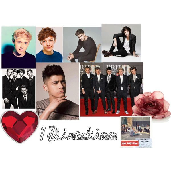"""1D"" by merysa17 on Polyvore"