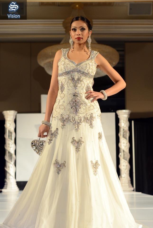 Ohm Bridal Fashion Show 2013   Wearing: Chandan Fashion