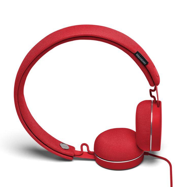 Urbanears Humlan - słuchawki nauszne czerwone / red headphones