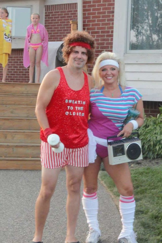 Richard Simmons -- 80's party