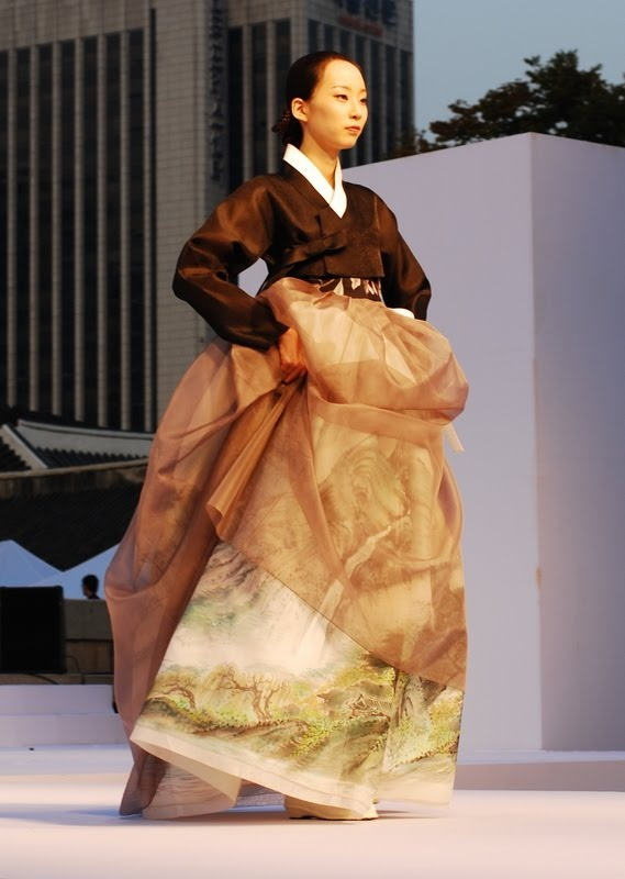 Hanbok Fashion Show in Seoul | Photo by Ryan
