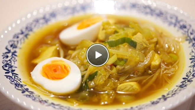 Soto ajam - recept | 24Kitchen