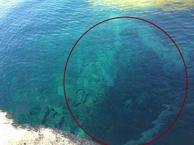 Πνευματικοί Λόγοι: Απίστευτο: Δείτε τι εμφανίστηκε στη θάλασσα του Αγ...