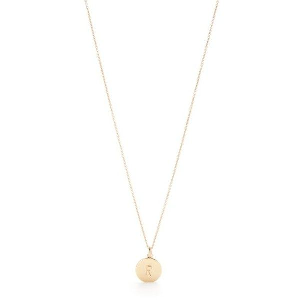 Kate Spade New York R One In A Million Initial Pendant Necklace ($58) ❤ liked on Polyvore featuring jewelry, necklaces, r, pendant necklace, kate spade, initial necklace, letter necklace and letter jewelry