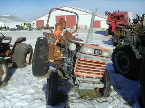 Kubota L2850 tractor salvaged for used parts. New, rebuilt and used tractor parts - All States Ag Parts. 877-530-4430