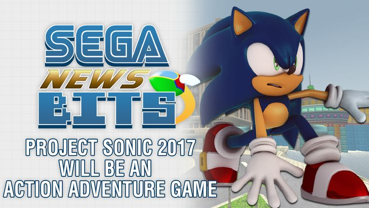 SEGA News Bits: Project Sonic 2017 Is An Action Adventure Game - https://www.youtube.com/watch?v=RCXksim589A Today on the SEGA News Bits we discuss brand new revealed information about Project Sonic 2017, including the fact that the game is being labeled an 'Action Adventure' game. Other bits of Project Sonic 2017 news we touch upon includes... https://www.sonicretro.org/2017/02/sega-news-bits-project-sonic-2017-action-adventure-game/