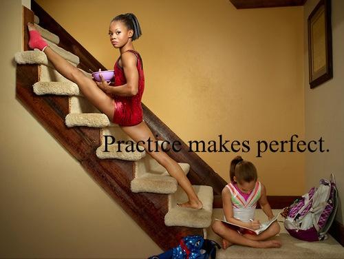 Practice makes perfect. #mindcheer #mindstyles